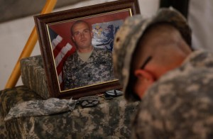 U.S. Army Cavalry Mourn Fallen Comrade In Kandahar Province